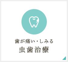 歯が痛い・しみる 虫歯治療